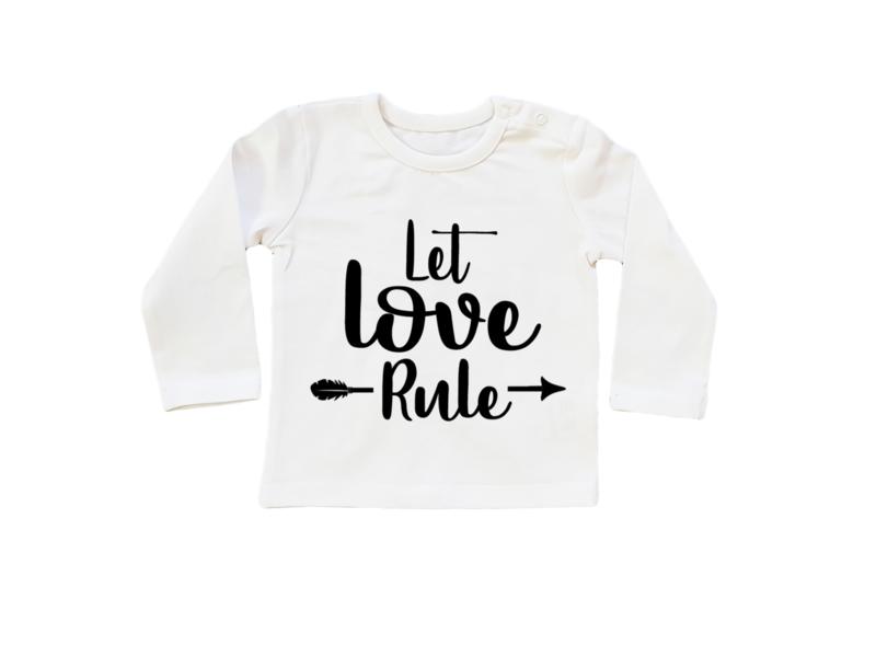 Baby/Kids Shirt Let Love Rule