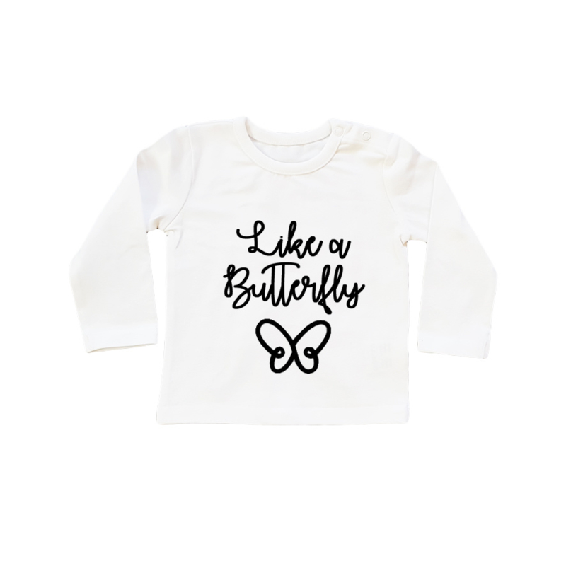 Baby/Kids Shirt Butterfly