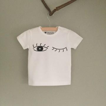 Baby/Kids Shirt Knipoog