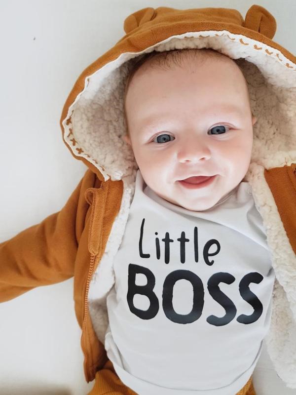 Baby/Kids Shirt Little BOSS.