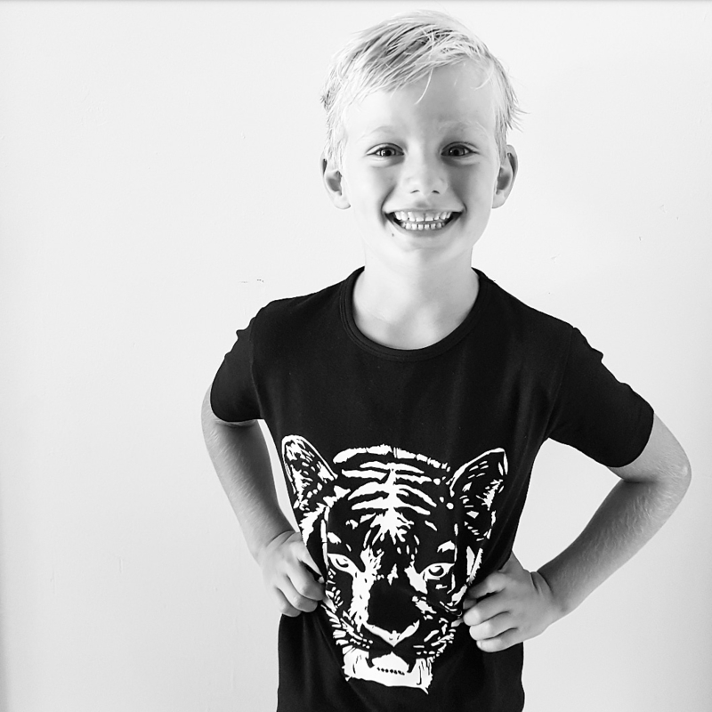 Baby/Kids Shirt Tiger