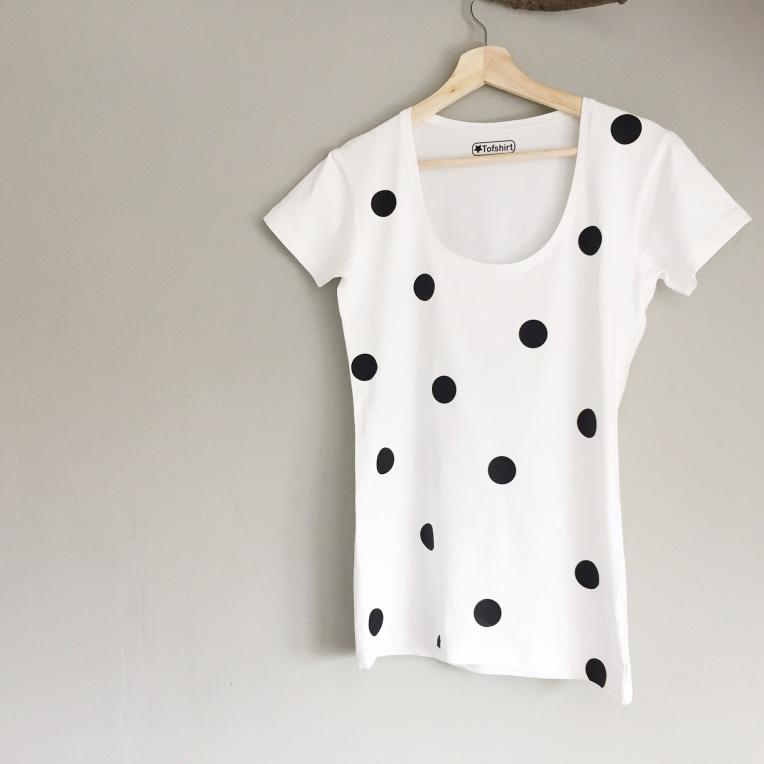 Dames t-shirt Dots