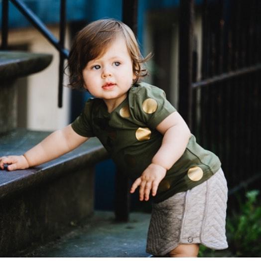 Baby/Kids Shirt Dots