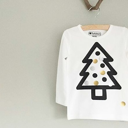 Baby/Kids Shirt XMAS TREE
