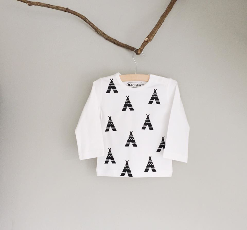 Baby/Kids Shirt Tipi's