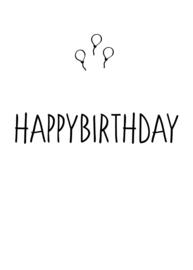 happybirthday (ballonnen)