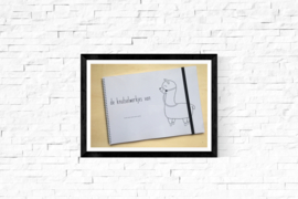 Knutselwerkjesboek alpaca