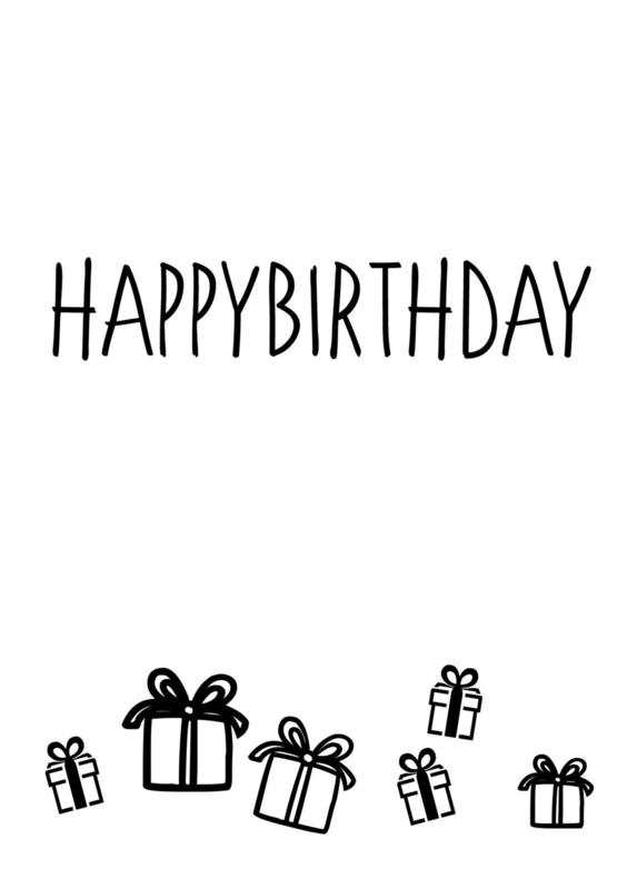 Happybirthday (cadeautjes)