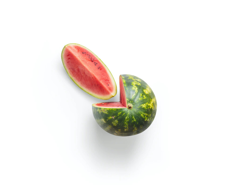 Biologische Watermeloen   1 stuk