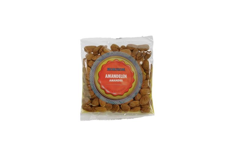 Bruine amandelen   150 gram