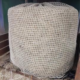 Slowfeedernet voor ronde hooibaal