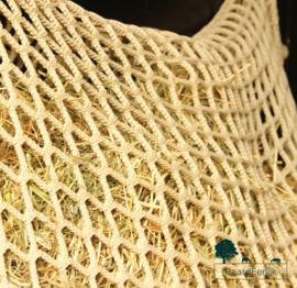 Slowfeeder ongeknoopt extra sterk - Flap-over - maas 3x3cm - afmeting 1.5m x 90cm