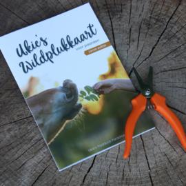 Ukie's Wildplukkaart & wildpluk schaartje - combipack
