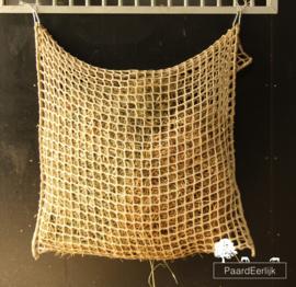 Slowfeeder ongeknoopt extra sterk - Flap-over - maas 3x3cm - afmeting 1m x 90cm