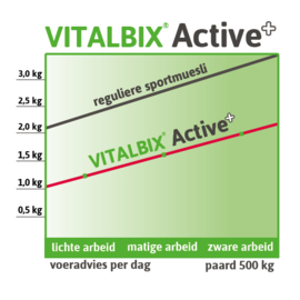 Vitalbix  Active+   vezelrijke sportmeusli