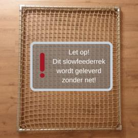 PaardEerlijk® - Slowfeederrek - zonder net (DIY-pakket)