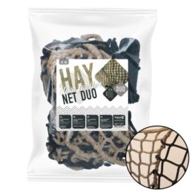 Slowfeeder Duo-net ongeknoopt - 10kg met flap