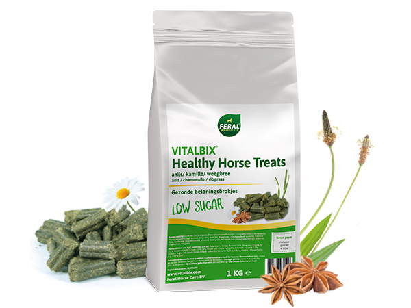 Vitalbix Healthy Horse Treats Anijs, Kamille & Weegbree - 1 KG