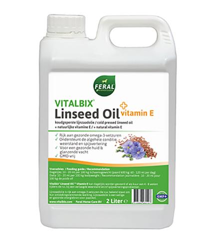 Vitalbix Linseed Oil + vitamine E