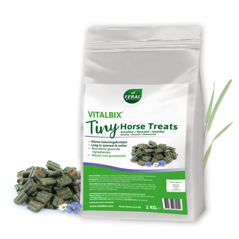 Vitalbix Tiny Horse Treats - 2 KG