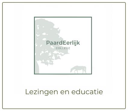 Paarden educatie en lezing
