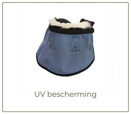 UV-bescherming paard paardenneus zonnebrand