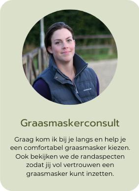 Graasmasker graaskorf en voedings advies en consult voor al jouw graasmasker en paardenvoedings vragen