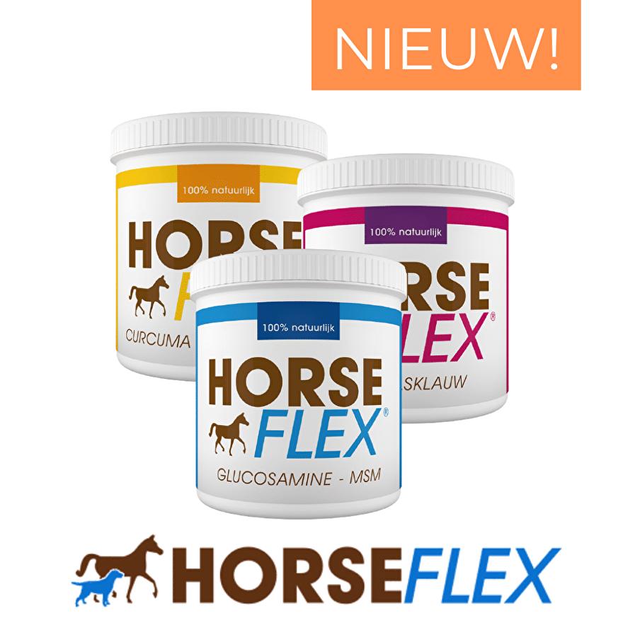 HorseFlex natuurlijke supplementen voor paarden