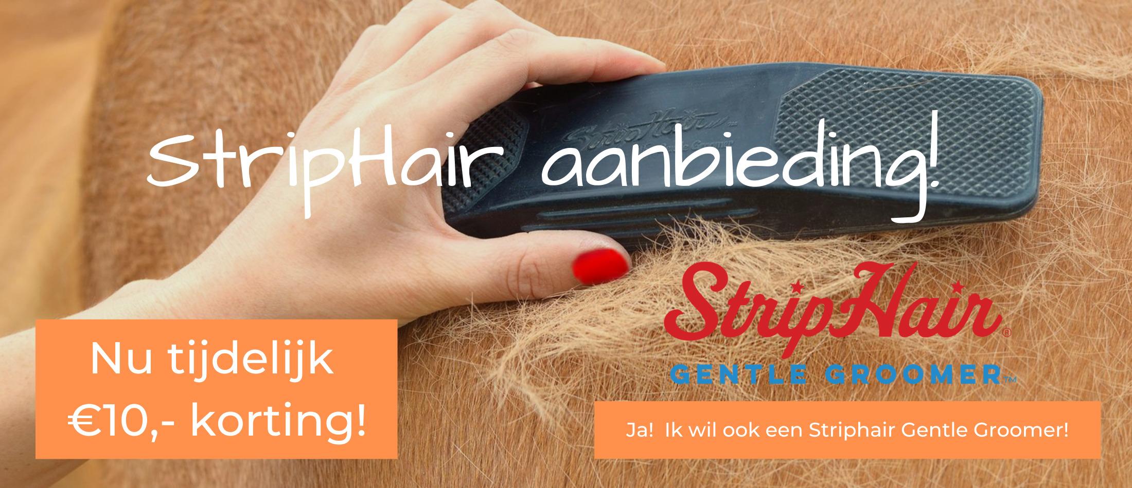 Striphair kortingsactie