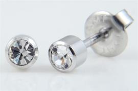 Schietoorbel Crystal steentje 4mm