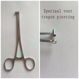Tragus piercing klem