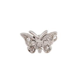 Vlinder met steentjes