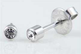 Schietoorbel Crystal steentje 3mm