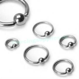 Ball Closure Rings