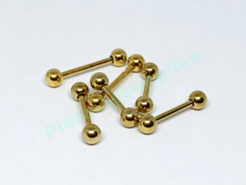 Gold Colored Barbell