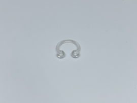 Flexiplastic Circular Barbell. 1.2 x 8 mm