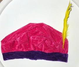 Roze pieten baret