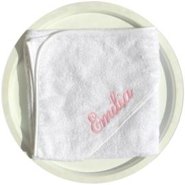 Handdoek Wit (Incl. naam)