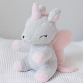 Baby unicorn Small Roze/grijs