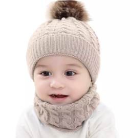 Baby setje beige