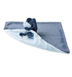 Doudou deken marine blauw