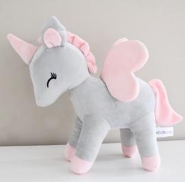 Unicorn grijs/roze M