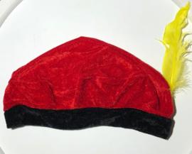 Rode pieten baret
