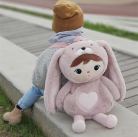 Rugzak bunny pink