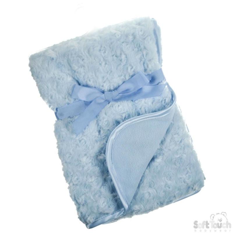 Baby dekentje blauw