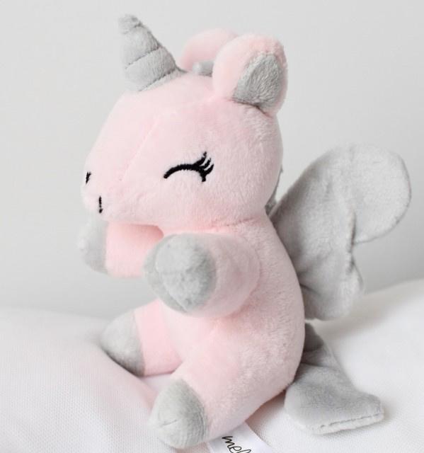 Baby unicorn Small Grijs/roze