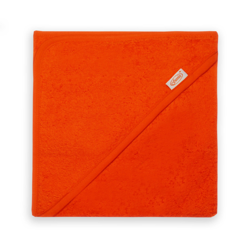 Handdoek oranje (Incl. naam)