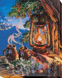 KRALEN BORDUURPAKKET EVENING TEA - ABRIS ART
