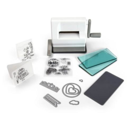 Sizzix Sidekick Starter Kit - White & Gray 661770