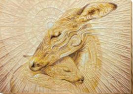 KRALEN BORDUURPAKKET  MOTHERS TENDERNESS - ABRIS ART